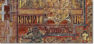book of kells folio 292r incipit to john in principio erat ver