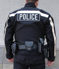 police air mesh jacket