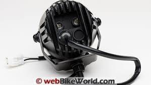 piaa lp270 review webbikeworld piaa lp270 lights rear wire bracket