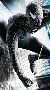Black Spiderman Wallpaper Hd 3d
