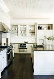 white kitchen dark tile floors. Kitchen Design:Dark Wood Floors In Hardwood Oak Floor Dark White Tile B