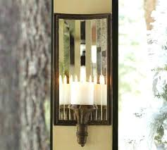 mirror wall candle holders mirrored wall mount pillar candle box mirror candle holders mirror wall candle