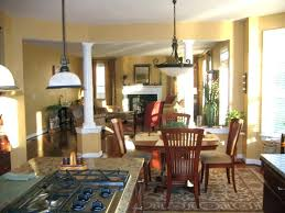 rug under dining table for