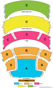 Schuster Performing Arts Center Seating Chart