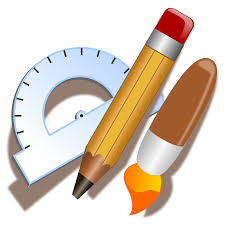 office drawing tools. drawing tools icon office