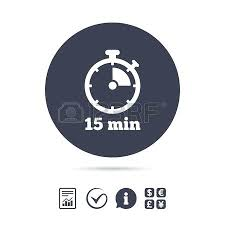 countdown timer 15 minutes timer 15 mins timer sign icon minutes stopwatch symbol report