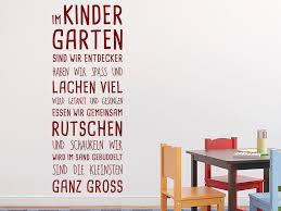 Wandtattoo Im Kindergarten Spruchband Meinung