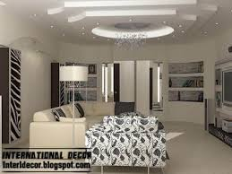 modern gypsum board ceiling design for modern living room with attractive  finish | decor | Pinterest | Modern living rooms, Modern living and Ceilings
