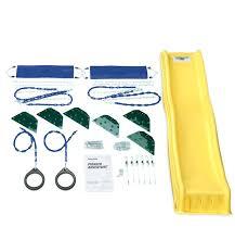 swingset hardware kit swing sets hardware kit wrangler custom play set n slide kiddos