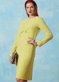 Vogue Patterns 9223 Misses Gathered Front Detail Dress