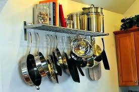 overhead pot rack hanging pot rack simple wall mount pot rack wall hanging pot hanging pot
