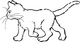 Small Picture Cat Coloring Pages Printable Cats Coloring Page Embroidery