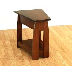 black wood end tables little black end tables medium size of narrow wood wedge end table
