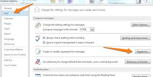 How Do I Change My Email Signature In Outlook 2013