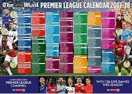 The Daily Mail Football World Cup Russia 2018 Uk Wallchart