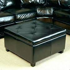 round leather ottoman coffee table. Fancy Brown Ottoman Coffee Table Round Leather With Storage .