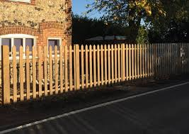 pointed palisade pales fence panels
