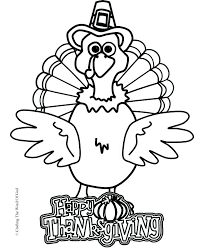 turkey coloring pages already colored free printable for the kids turkey coloring pages preschool thanksgiving page