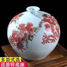 Jingdezhen Is De Beroemde Handgeschilderde Keramische Vaas