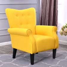 Button Back Armchair Button Back Armchair Accent High Back Living Room  Bedroom Armchair Armchair Button Back