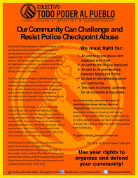 california dui checkpoint flyer checkpoints retenes colectivo todo poder al pueblo page 5