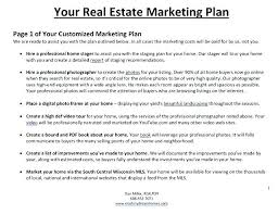 free sample marketing plan template real estate marketing plan real estate marketing plan template market ysis famous photograph although international
