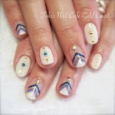 秋でもいけるボヘミアンネイル Toki Nails Gold Coast