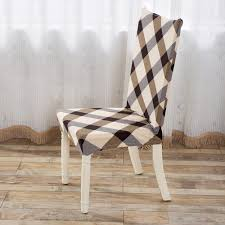 chair covers for home. Universal Removable Stretch Elastic Modern Minimalist Slipcovers Home Style Cotton Chair Covers Hotel Banquet Seat -in Cover From For T