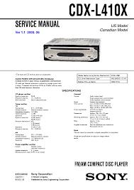 sony cdx l410x wiring diagram sony xplod manual \u2022 wiring diagrams sony cdx-gt310 price at Sony Cdx Gt310mp Wiring Diagram