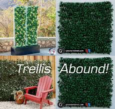 Compass Home Expandable Faux Ivy Privacy Fence With Lights Four Of Geranium Streets Options For Simple Zero