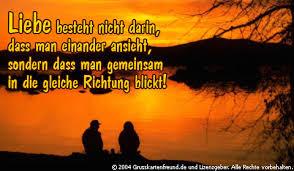 Romantik Grusskarten Romantisch Sonnenuntergang Auf