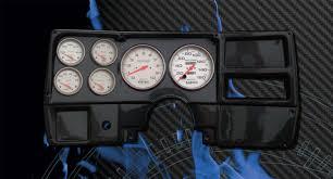 chevrolet truck 1984 87 fast lane west dash panels gauge 84 87 chevy truck cf dash w ultra lite gauges