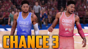nba 2k16 chance the rapper coloring book chance 3 jersey court tutorial you