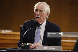 Sen. Angus King, I-Maine, speaks during a Senate Intelligence... News Photo  - Getty Images