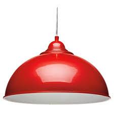 red pendant lighting. Appealing Red Pendant Lamp Shade For Modern Lighting Fitting