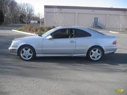 1999 Brilliant Silver Metallic Mercedes-Benz CLK 430 Coupe ...