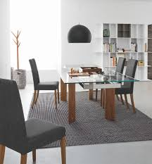 wood extendable dining table walnut modern tables:  cado modern furniture tower wood modern extendable dining table