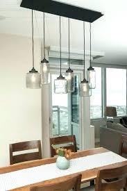chandelier for kitchen table modern