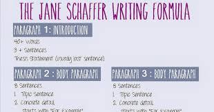 Teaching In Polka Dots Jane Schaffer Writing Formula