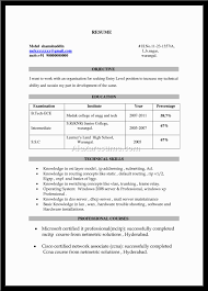 Resumes Resume Titles For Entry Level Positions Career Change
