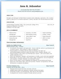 medical assistant externship resume medical assistant skills for resume  sample medical assistant resume with externship experience