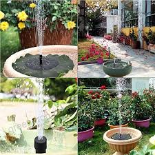 ankway solar fountain for birdbath solar fountain pump submersible outdoor solar water pump for pond bird