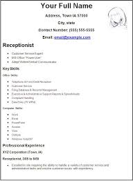 Create Resume Free Simple To Make A Resume For Free