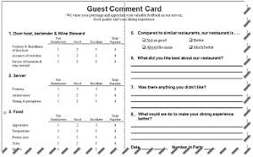 Comment Cards System Comment Cards