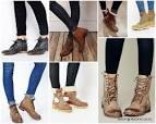 Модные ботинки женские с чем носить 181