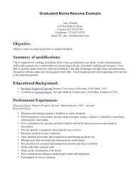 New Rn Resume Examples resume New Grad Rn Resume Examples 28