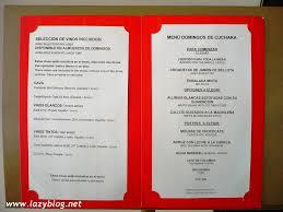 Como Hacer Menu Para Restaurante Barca Fontanacountryinn Com
