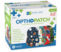 Boys 40 Pack Opthopatch