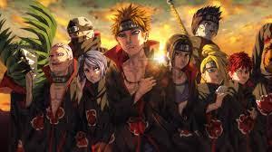 3840x2160 Akatsuki Organization Anime ...