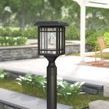 Quickview Solar Powered Post Lights You\u0027ll Love | Wayfair